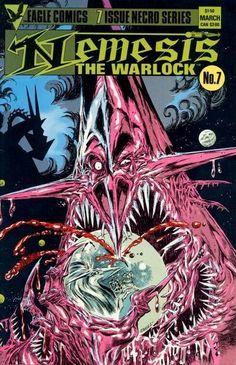 Last in series as Torquemada takes revenge on Nemesis.Eagle no.7 by Kev O'Neill