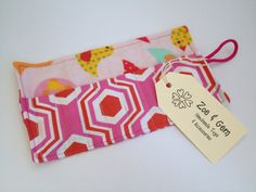 Crayon Roll by Zoe and Gem International Shipping Available