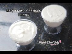 Requeijão Cremoso: Receita FIT / DIETA DUKAN - YouTube
