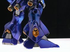 MG 1/100 MS-18E Kampfer Metallic Blue Painted Build by Backy