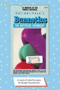 VHS: Bunnetics - The Buttocks Workout
