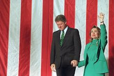 Hillary And Bill Through The Years
