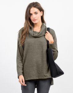 #2020AVEXFALL Fall City, Getting Cozy, Long Sleeve Tunic, Cozy Sweaters, Over The Knee Boots, Hemline, Tunic Tops, Turtle Neck, Leggings