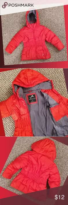 EUC Girl's Red Winter Jacket Excellent condition, gently used, girl's size 5, red winter coat by Vertical 9.  No rips, stains or defects.  Fleece lining, one inside pocket, machine washable. Jackets & Coats
