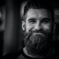 Beards. Men. Smile. Photography.