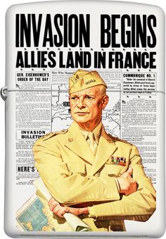 General Dwight D. Eisenhower Custom Zippo