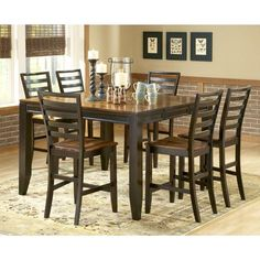 Abaco 7-Piece Dining Set   Nebraska Furniture Mart
