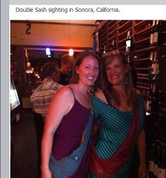 Double Sash sighting in Sonora, CA #sash #sashbag