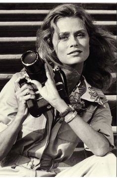 Blast from the past: :Lauren Hutton-defied the narrow, cookie-cutter standard of beauty in the 70s. Love her!