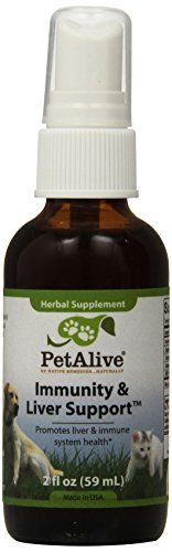 Pet Wellbeing Immunity and Liver Support Spray 2 Fluid Ounce * Be sure to check out this awesome product.
