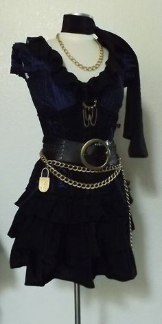 Sexy Pirate Costume Womens Halloween by PassionFlowerVintage