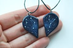 These couple's constellation necklaces: | 29 Celestial Accessories You'll Be Over The Moon For