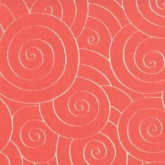 Fabric Depot, Coral Swirls