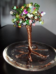 SALE Small Wire Tree by melindadanielle on Etsy, $25.00