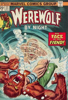 Werewolf by Night #22 cover by Gil Kane