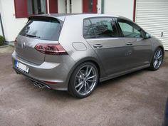 Mk7 Golf R, limestone gray, Pretoria wheels