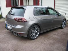 Mk7 Golf R, limestone gray, Pretoria wheels