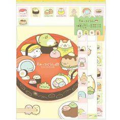 San-x Sumikko Gurashi Letter set (homemade sushi Association) ★ sushi Association series ★