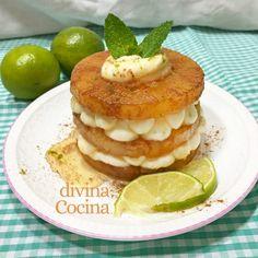 Receta de Tortitas de Manzana fáciles - Divina Cocina