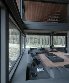Home Room Design, Dream Home Design, Modern House Design, Home Interior Design, Dream House Interior, Luxury Homes Dream Houses, Casas Containers, Modern Architecture House, Minimalist Home