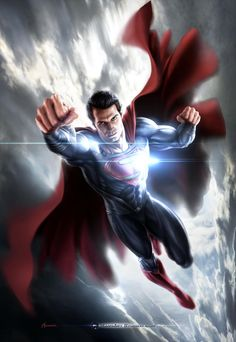 Man of Steel Concept Art by Warren Manser