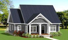 Cozy and Compact Cottage - 46312LA | 1st Floor Master Suite, CAD Available, Cottage, Northwest, PDF, Split Bedrooms | Architectural Designs