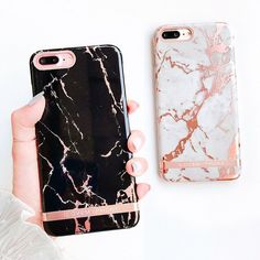 Luxury Marble Gold Bar Protertive Hard Cover Phone Case for iphone 8 6 6s 7 plus | eBay #iphone8case, #iphoneaccessories, #iphone7pluscase