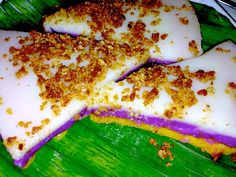 Kusina Master Asian Recipes: Sapin-Sapin (Layered Sticky Rice Cake)