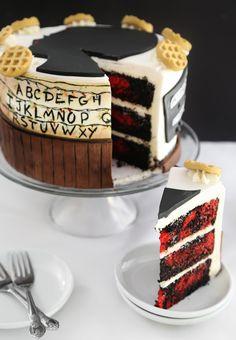 Stranger Things Eleven Cake