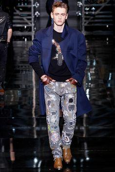 Versace - Fall 2014 Menswear - Look 34 of 50