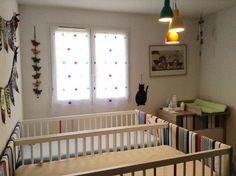 Chambre bébé évolutive Evolve à l'honneur grâce à la gentillesse d'une très fidèle cliente de BABY-MANIA.COM de Montpellier