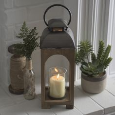 Go for the glow with a lovely lantern.