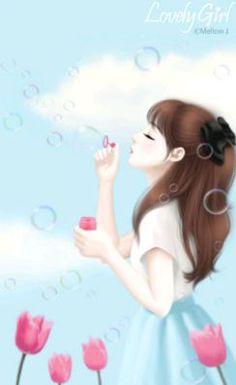 Image de art, girl, and kawaii