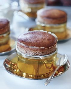 The creaminess of milk chocolate brings warmth to these single-serving souffles, making them equal parts comfort food and a total treat.