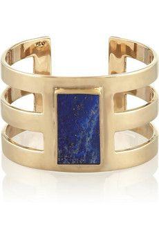 Pamela Love Bronze lapis lazuli cuff