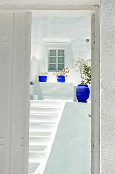 White and Blue of the Cycladic islands