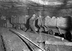 In Gary, West Virginia, a boy applies the brakes on a motor train, He performs this task for around ten hours per day. Get premium, high resolution news photos at Getty Images West Virginia, Labor Day History, Lewis Hine, Coal Miners, Live Wire, Working People, Working With Children, Going To Work, Vintage Industrial