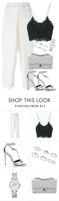 """Unbenannt #1890"" by luckylynn-cdii ❤ liked on Polyvore featuring Joseph, Zara, Tom Ford, Miss Selfridge, Christian Dior and Chanel"