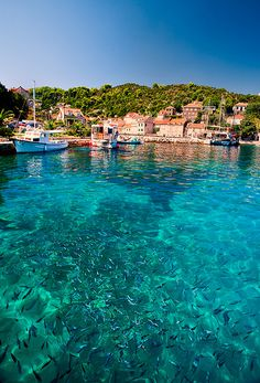 Elafits Islands, Croatia in the Adriatic Coast