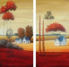 Landscape with Windmill Son Birthday Quotes, Sons Birthday, Landscape Art, Landscape Paintings, South African Artists, Windmill, Country Living, Gods Love, Painting & Drawing