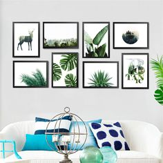 Animal Botanic Decoration Wall Painting Canvas Painting Wall Pictures For Living Room Posters and Prints No Poster Frame HD1949