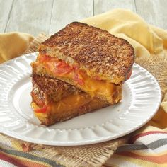 Vegan Grilled Cheese with Sweet Potato Nacho Cheese | 16 Insanely Delicious Grilled Cheese Sandwiches