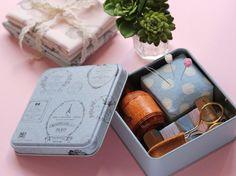 100均のかわいい缶&材料deフレンチソーイングセット♡ ~缶の活用法☆ - 暮らしニスタ
