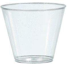 Clear 9oz Plastic Tumblers Big Party Packs $10 for 100