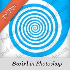Swirl in Photoshop Tips psd-dude.com Tutorials