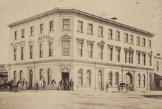 Belvidere Hotel    On Victoria Parade, and built in 1854 to design of architect Joseph Burns, the hotel is now called the Eastern Hill Hotel. The hotel provided the venue for meetings concerned with, and allied to, the Eight Hour Day movement.