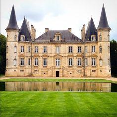Château Pichon Longueville in Pauillac, France,,,,,