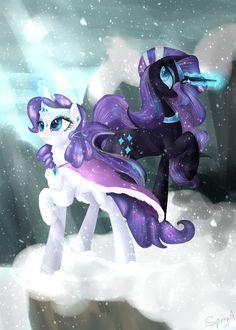 Snow, Crystals, Lights and Shadows by Alice4444DM.deviantart.com on @DeviantArt