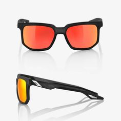 5900a48d536 Centric - Soft Tact Crystal Black - HiPER Red Multilayer Mirror Lens  Crystals