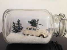 11 fairly, cute, humorous and cheap concepts for Christmas - DIY craft concepts Christmas Jars, Rustic Christmas, Winter Christmas, All Things Christmas, Christmas Home, Vintage Christmas, Winter Diy, Christmas Projects, Holiday Crafts
